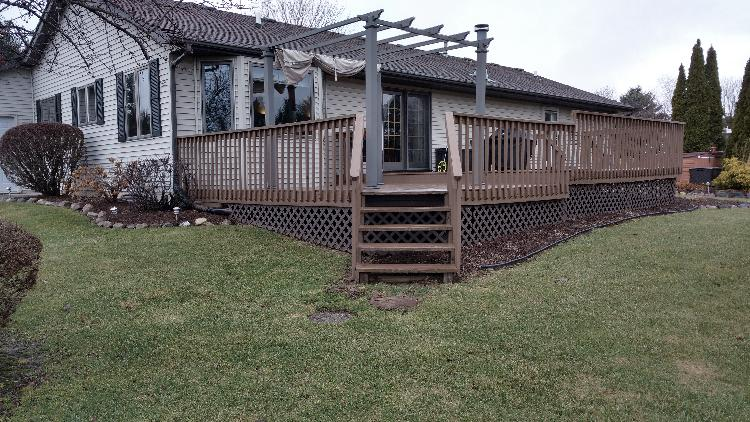 Contemporary Backyard Retreat: Before