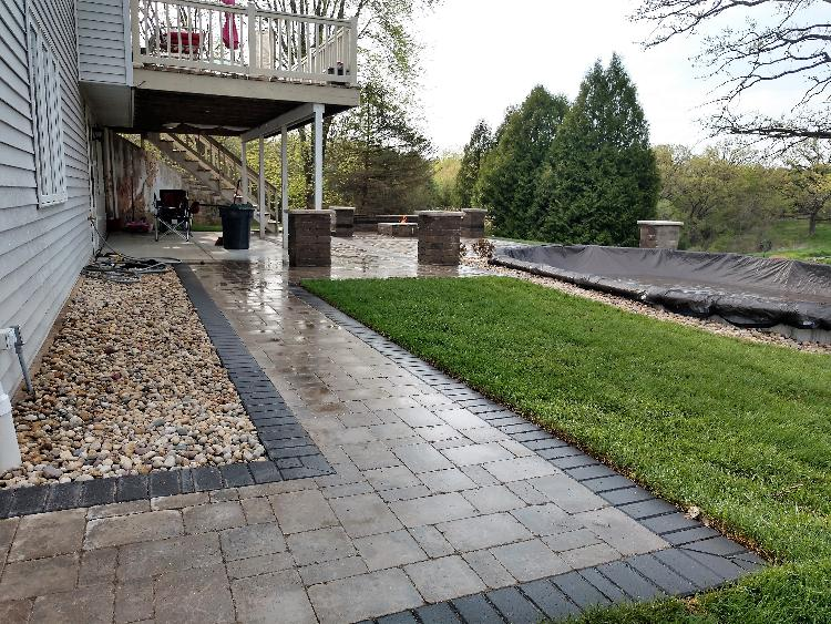 Classy Renovation: After patio