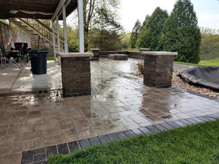 Classy Renovation: After patio 2